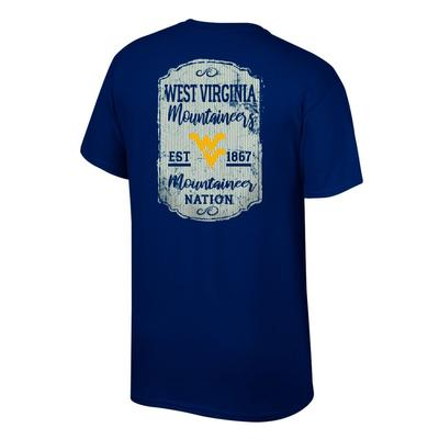 West Virginia Women's Plaque and Logo Tee Shirt