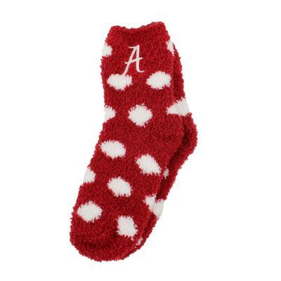 Alabama ZooZatz Fuzzy Dot Socks