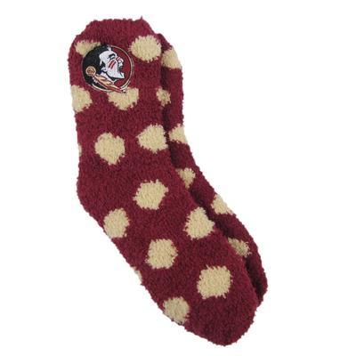 Florida State ZooZatz Fuzzy Dot Socks