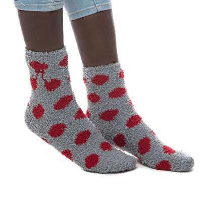 Alabama ZooZatz Reverse Fuzzy Dot Socks