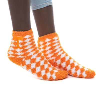 Tennessee ZooZatz Reverse Fuzzy Dot Socks