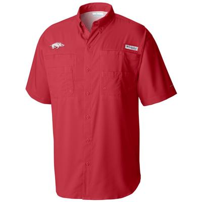 Arkansas Columbia PFG Big & Tall Tamiami Woven Shirt