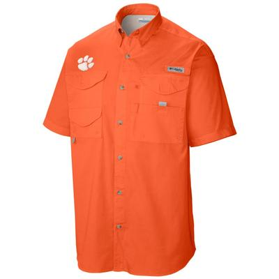 Clemson Columbia Big & Tall Tamiami Short Sleeve Shirt