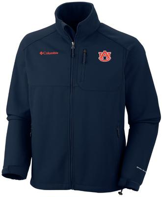 Auburn Columbia Ascender Softshell Jacket