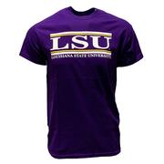 Lsu Men's University Bar Tee