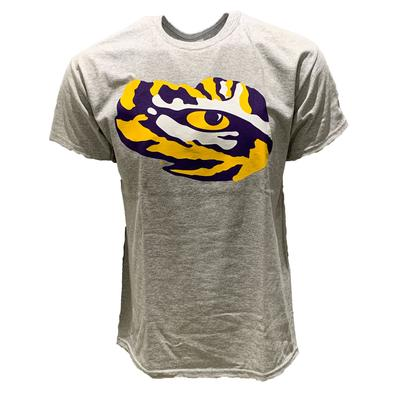 LSU Men's Giant Logo Tiger Eye Tee