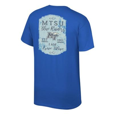 MTSU Women's Plaque and Logo Tee Shirt