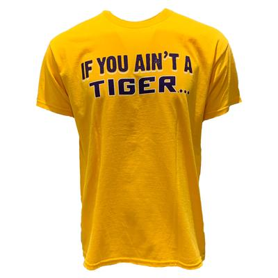 LSU Men's Tigerbait Distressed Tee