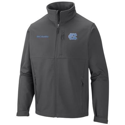 UNC Columbia Ascender Softshell Jacket