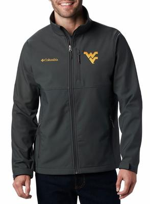 West Virginia Columbia Ascender Softshell Jacket