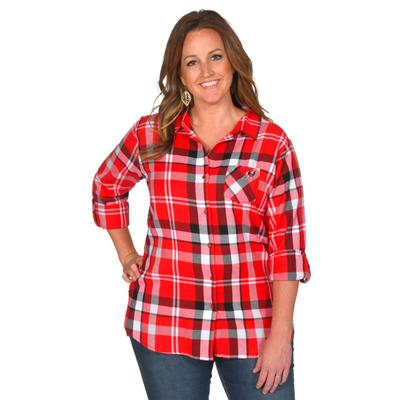 Georgia University Girl Boyfriend Plaid - Plus Sizes