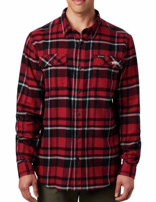 Arkansas Columbia Flare Gun Flannel Woven Shirt