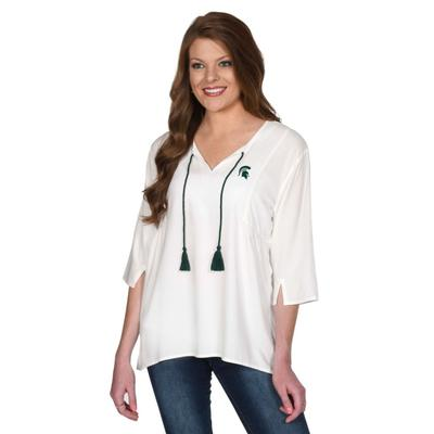 Michigan State University Girls Tassel Tunic
