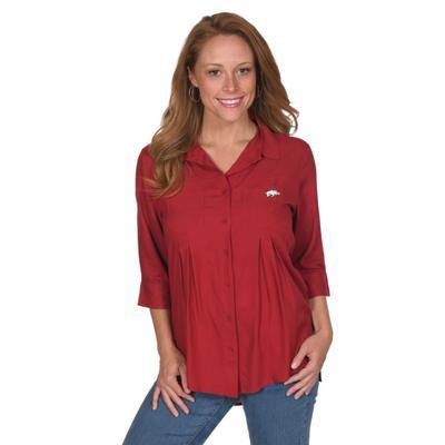 Arkansas University Girl Tassel Tunic