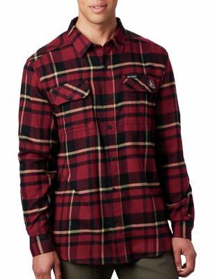 Florida State Columbia Flare Gun Flannel Woven Shirt