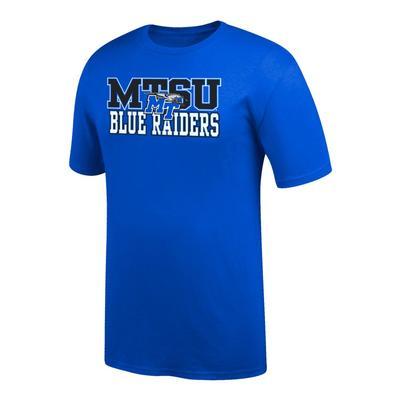 MTSU Block Logo With MT Tee Shirt