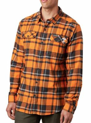 Tennessee Columbia Flare Gun Flannel Woven Shirt
