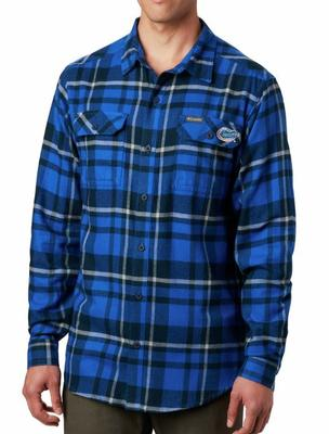 Florida Columbia Flare Gun Flannel Woven Shirt