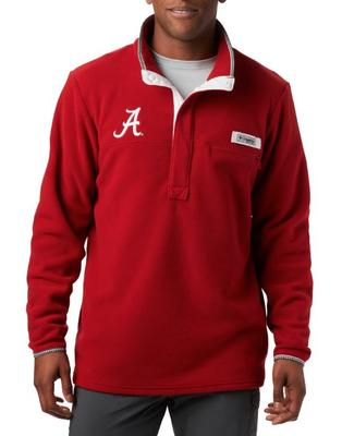 Alabama Columbia Harborside Fleece Pullover - Tall Sizing