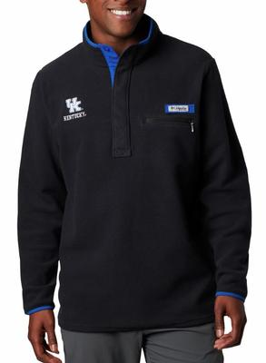 Kentucky Columbia Harborside Fleece Pullover - Tall Sizing