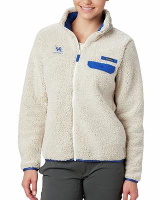 Kentucky Columbia Women's Mountain Side Fleece Jacket