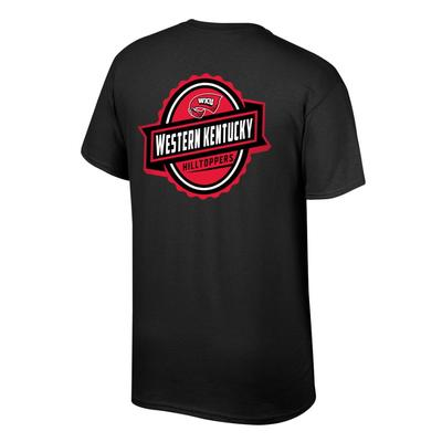 Western Kentucky Banner Label Western Kentucky Hilltoppers Tee Shirt