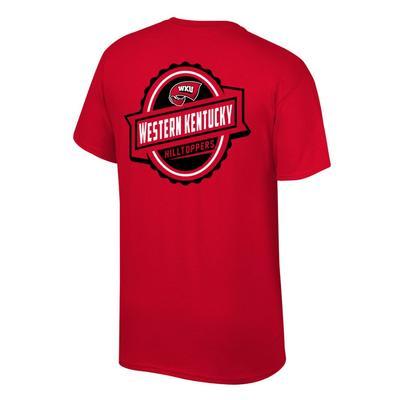 Western Kentucky Banner Label Western Kentucky Hilltoppers Tee Shirt