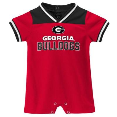 Georgia Infant Mesh S/S Game Day Romper