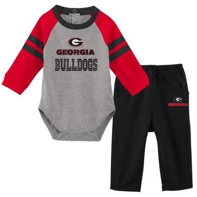 Georgia Newborn L/S Creeper and Pant Set