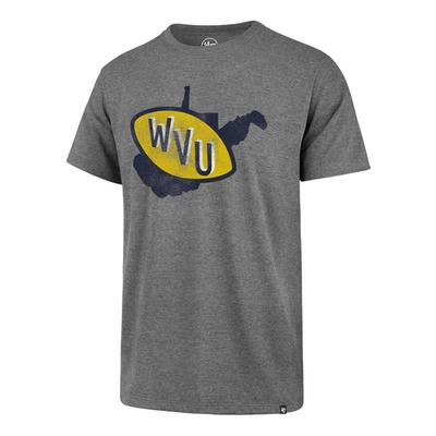 West Virginia '47 Brand State Club Tee