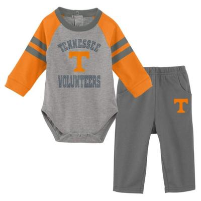 Tennessee Newborn L/S Creeper and Pant Set