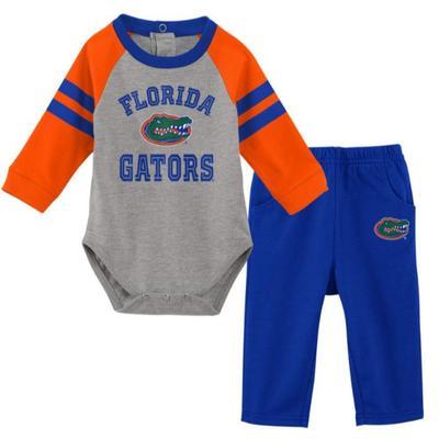 Florida Newborn L/S Creeper and Pant Set