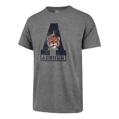 Auburn '47 Brand Block A Club Tee