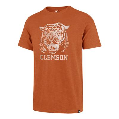 Clemson '47 Brand Growling Tiger Scrum Tee