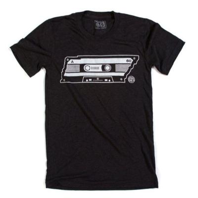 Nashville Men's Project 615 TN Cassette Tape Tee