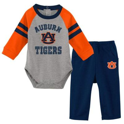 Auburn L/S Creeper and Pant Set