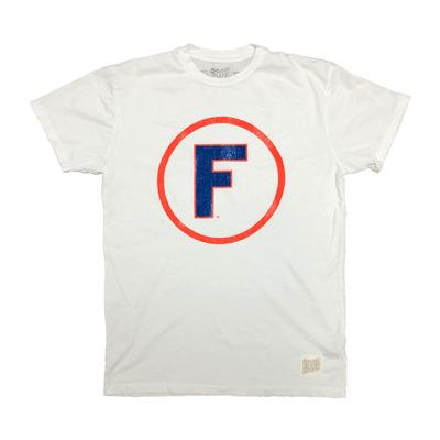 Florida Retro Brand Circle F Logo Tee