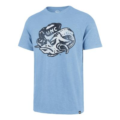 UNC '47 Brand Side Ram Head Scrum Tee