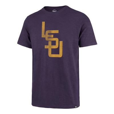 LSU '47 Brand Interlock LSU Scrum Tee