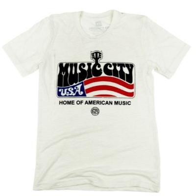 Nashville Men's Project 615 American Music City Tee