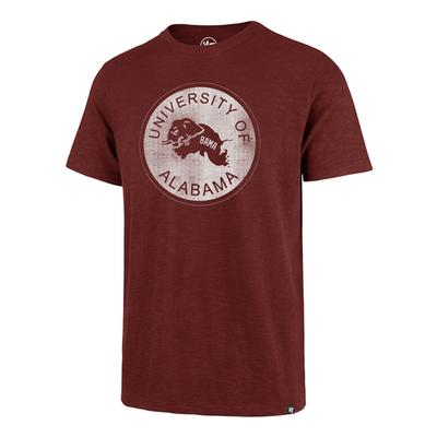 Alabama '47 Brand Leaping Elephant Scrum Tee