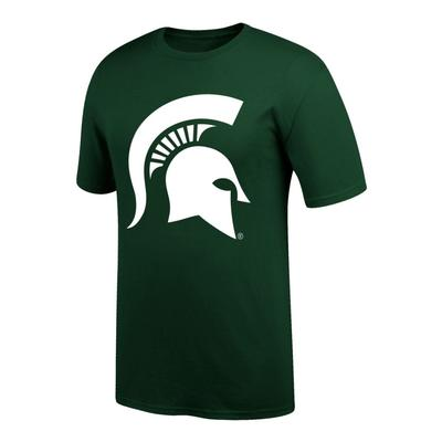 Michigan State Giant Helmet Logo Tee Shirt