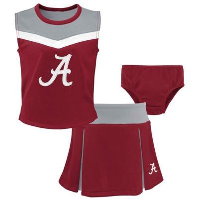 Alabama Toddler Spirit 2 Piece Cheerleader Set