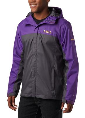 LSU Columbia Glennaker Storm Jacket - Big Sizing