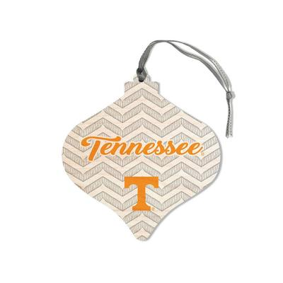 Tennessee Legacy Chevron Bulb Ornament