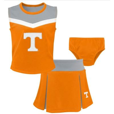 Tennessee Toddler Spirit 2 Piece Cheerleader Set