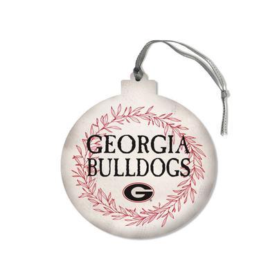 Georgia Legacy Laurel's Round Ornament