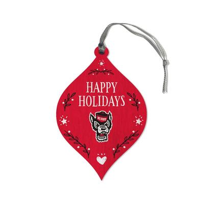 NCST Legacy Merry Christmas Teardrop Ornament