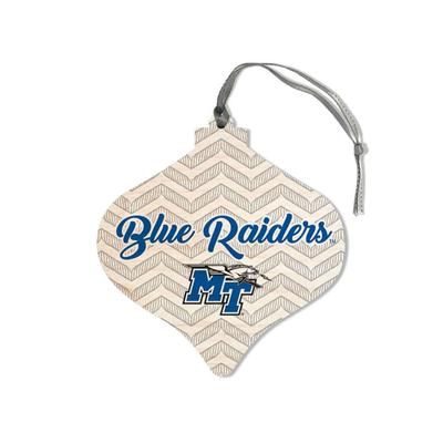MTSU Legacy Chevron Bulb Ornament