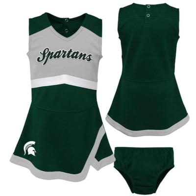 Michigan State Youth Cheer Captain Jumper Dress